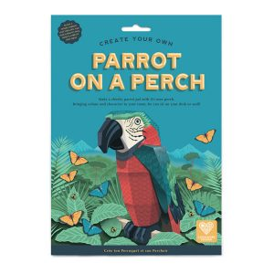 Clockwork Soldier Create Your Own Parrot On A Perch