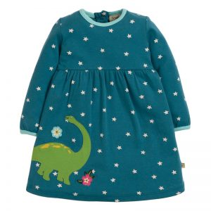 Frugi Diplodocus Dolcie Dress