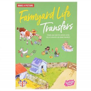 Scribble Down Transfers – Farmyard Life