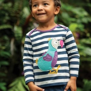 Frugi Bobby Applique Top Dodo