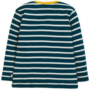 Frugi Bobby Applique Top Earth