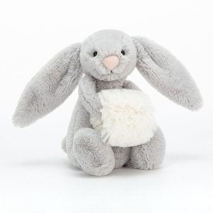 Jellycat Bashful Silver Snow Bunny Small
