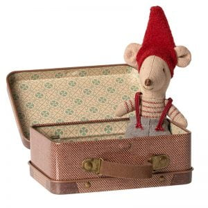 Maileg Christmas Mouse in Suitcase – Little Brother