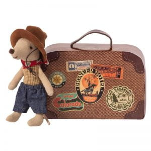 Maileg Cowboy in Suitcase – Little Brother Mouse