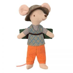 Maileg Hiking Mouse – Big Brother