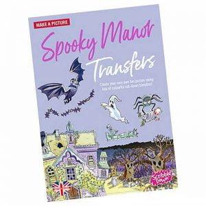 Scribble Down Transfers – Spooky Manor