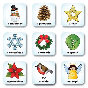 Seekers Scavenger Hunt Christmas Magnets
