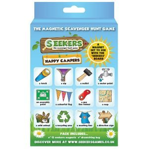 Seekers Scavenger Hunt Happy Campers Magnets