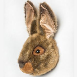 Wild and Soft Animal Trophy Head – Lewis the Hare