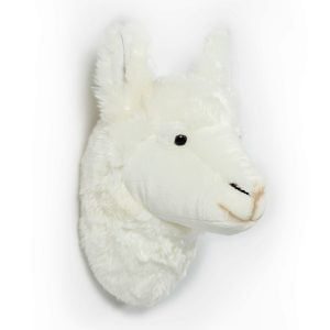 Wild and Soft Animal Trophy Head – Lily the Llama