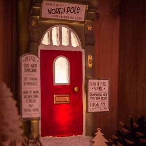 Elf Door – Magical Light-Up Christmas Elf Door