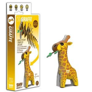 Eugy Giraffe 3D Craft Kit