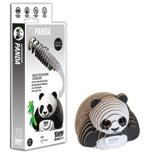 Eugy Panda 3D Craft Kit