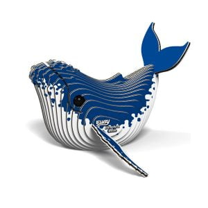 Eugy Humpback Whale 3D Craft Kit