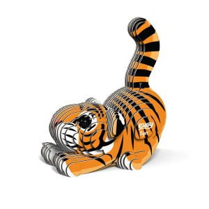 Eugy Tiger 3D Craft Kit