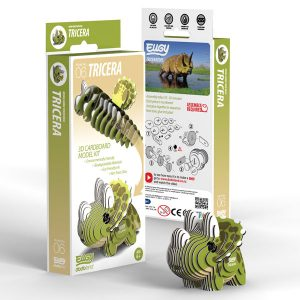 Eugy Tricera 3D Craft Kit