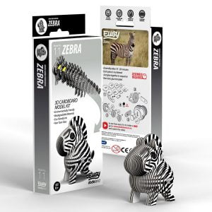 Eugy Zebra 3D Craft Kit