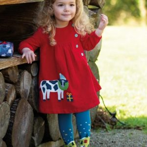 Frugi Little Norah Festive Fields Tights