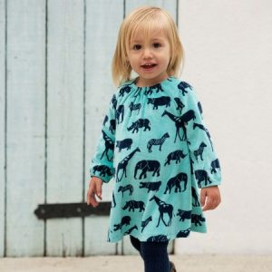 Frugi Vanessa Velour Dress