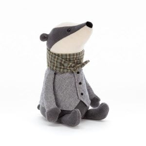 Jellycat Riverside Rambler Badger