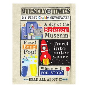 Nursery Times Crinkly Newspaper – Science Museum