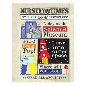 Nursery Times Crinkly Newspaper – Science Museum