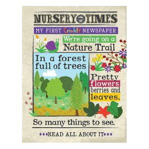 Nursery Times Crinkly Newspaper – Nature Trails