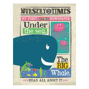 Nursery Times Crinkly Newspaper – Under the sea.