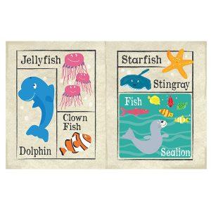 Nursery Times Crinkly Newspaper – Under the sea.