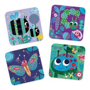 Djeco Scratch Boards Bugs