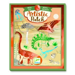 Djeco Artistic Patch Metal Collages – Dinosaurs