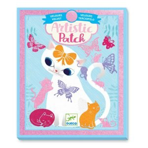Djeco Artistic Patch Velvet Collages – Little Pets