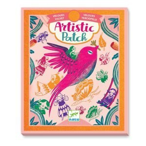 Djeco Artistic Patch Velvet Collages – Recreation