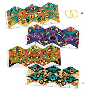 Djeco Kaleidocycles – Flexmonsters