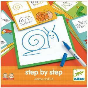 Djeco Step by Step Learn to Draw – Animals