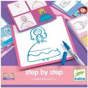 Djeco Step by Step Learn to Draw – Josephine & Co