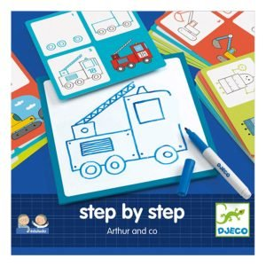 Djeco Step by Step Learn to Draw – Arthur & Co