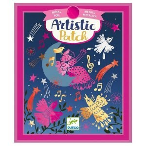 Djeco Artistic Patch Foil Collages – Melodies