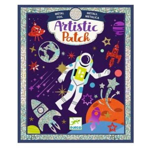 Djeco Artistic Patch Foil Collages – Cosmos