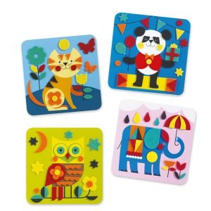 Djeco Animal Felt Pictures – Gentle Creatures
