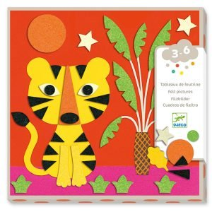 Djeco Animal Felt Pictures – Sweet Nature