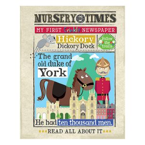 Nursery Times Crinkly Newspaper – Nursery Rhymes