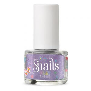 Snails Play Washable Nail Varnish Purple Comet