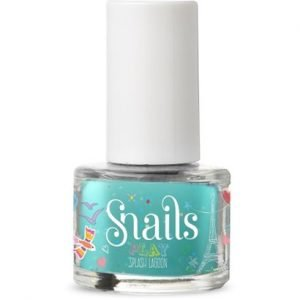 Snails Play Washable Nail Varnish Splash Lagoon