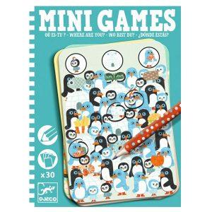 Djeco Mini Games – Where Are You?