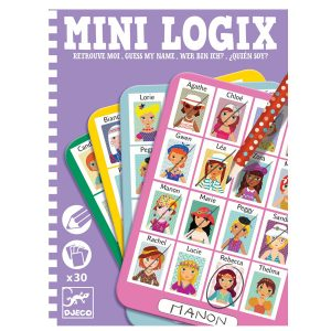 Djeco Mini Logix – Guess My Name Girls