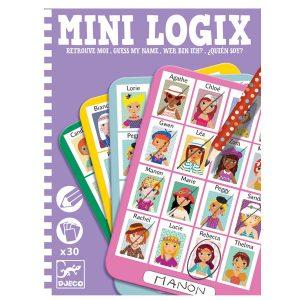 Djeco Mini Logix – Guess My Name Girls