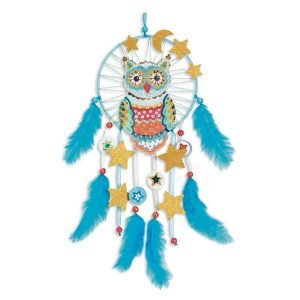 Djeco DIY Dreamcatcher – Golden Owl