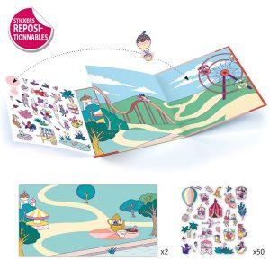 Djeco Sticker Stories – Funfair