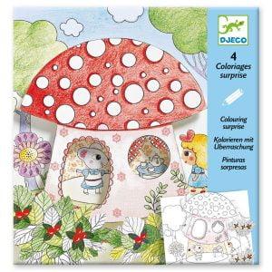 Djeco Colouring Surprise – Thumbelina
